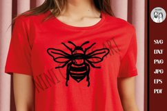 Bee SVG - Cut File - Bee Svg, Bee Happy Svg, Queen Bee Product Image 2
