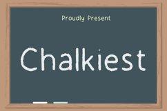 Chalkiest Font Product Image 1