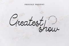 Greatest Show Product Image 1