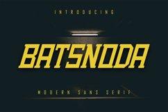 Batsnoda - Modern Sans Serif Product Image 1