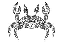 Crab illustration Product Image 1