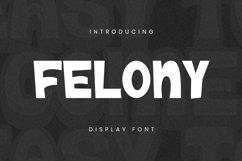 Felony Font Product Image 1