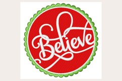 Believe - Machine Embroidery Design Product Image 1