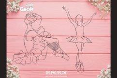 BALLERINA SVG Bundle, ballet svg, ballerina shoes svg, balle Product Image 3