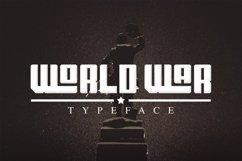 Web Font World War Product Image 1