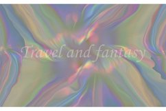 Abstract iridescent rainbow texture background. Product Image 1