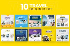Travel 10 Social Media Post Product Image 1