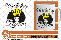 5x Black Woman Bundle SVG, Afro Lady svg, file,Lady in Crown Product Image 2