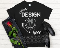 Gildan 5000 Mockup Bundle - Gildan Heavy Cotton T-shirts Product Image 2