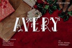 Avery - Christmas Fairy font Product Image 1