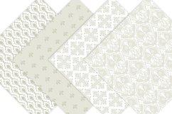 Wedding Damask Pattern Digital Paper Product Image 4