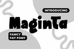 Web Font Maginta - Fancy Fonts Product Image 1