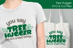 Tree Hugger - Conservation SVG and Cut Files for Crafters Product Image 2