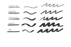 Procreate Lettering 34 Brush Bundle Product Image 5