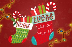 Bright Lights // A Merry Christmas Font Product Image 4
