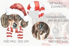 Christmas Animal Creator.Watercolor Dogs & Cats Product Image 5
