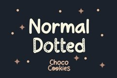 Web Font Choco Cookie - Playful Duo Font Product Image 2