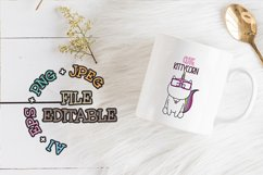 Set cute Illustration caticorn for Baby Shower Product Image 2