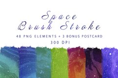 Space Brush Stroke PNG Product Image 1