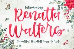 Stylish Script - Renatta Walters Font Product Image 1