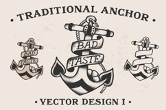 Traditional Anchor Vector Design I Product Image 1