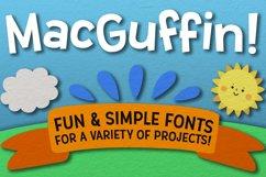 MacGuffin - fun font set Product Image 1