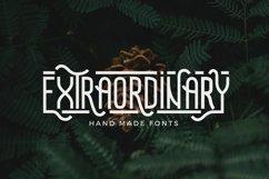 Extraordinary - Handmade Font Product Image 1
