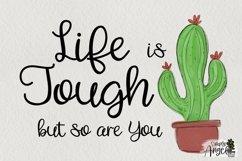 Happy Cactus - a cute handwritten script font Product Image 2