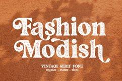 Fashion Modish / Vintage Letterpress Product Image 1