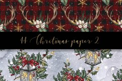 Christmas digital paper pack Product Image 5