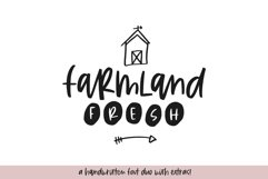 Farmland Fresh - A Font Duo with Doodles Product Image 1