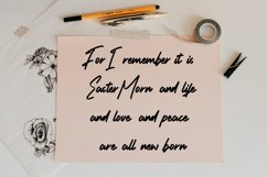 Tradition - Handwritten Script Font Product Image 5