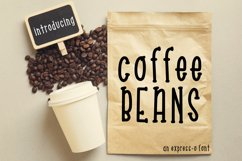 Coffee Beans an Express-o Font Product Image 1