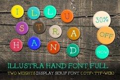 Illustra Hand Font [30% off]  Product Image 1