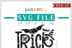 Trick or Teach SVG Cut File Product Image 4