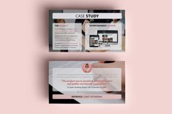 PPT Template | Project Proposal - Pink and Marble Round Product Image 9