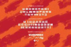 ZAKURRA Font Product Image 5