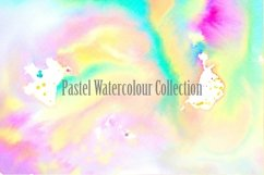 20 Pastel Watercolour Abstract Paint Backgrounds Product Image 2