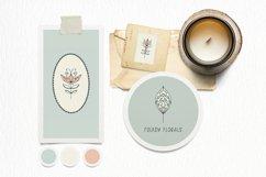 Modern Folk Art Flowers Procreate Stamp Brushes Product Image 4