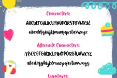 Drawing a Life - Brush Font Product Image 2