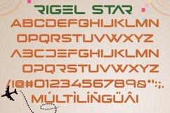 Rigel Star Futuristic Font Product Image 6