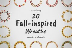 Fall-inspired Wreaths & Elements Product Image 1