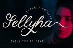 Sellyha - Lovely Script Font Product Image 1