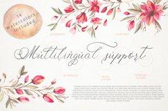 Schonheit font & watercolors. Product Image 4