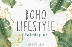 Boho Lifestyle - Handwriting Font Product Image 1