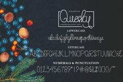 Quesky Handwritten Script Product Image 6