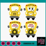 Whimsy Bus SVG, DXF, PNG, EPS Comm Product Image 2