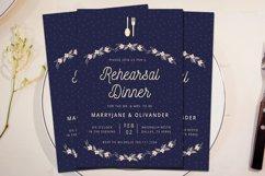 Wedding Rehearsal Dinner Invitation Product Image 2
