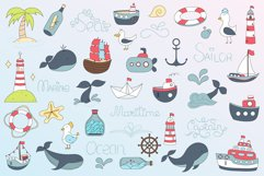 Maritime elements, patterns Product Image 2