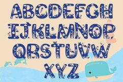 Beach Font | Summer Font - Squishy Font & Bonus Extras Product Image 2